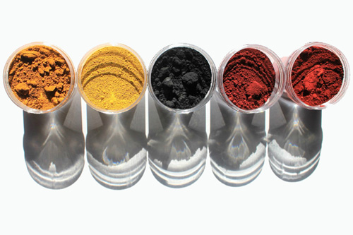 Iron Oxide Pigments and Dispersions